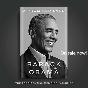 A Promised Land, On sale now!