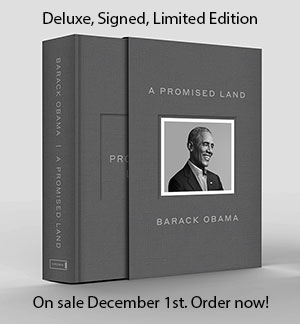 A Promised Land: Deluxe Signed, Limited Edition, Order now!